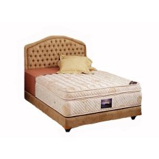 Harga Uniland Spring Bed Platinum Plush Top Komplit Set Uk 160X200 Sandaran Golden Uniland Asli