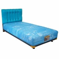 Ulasan Lengkap Tentang Uniland Springbed Multibed Beauty Bed Air Plane Hb Suede Size 120 X 200 Biru Full Set Khusus Jabodetabek