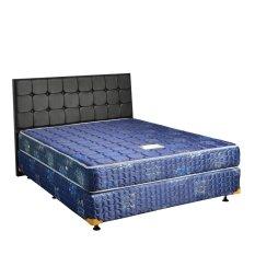 Toko Uniland Springbed Standard Biru Divan Flamboyan Hb Sydney Size 180 X 200 Full Set Khusus Jabodetabek Uniland Online