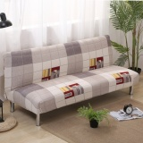 Spek Universal 3 Seat Sofa Cover Slipcover Armless Settee Couch Protector Elastic Sofa Bed Cover 3 Intl