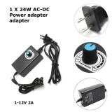 Beli Barang Universal Ac Dc Power Adapter 1 12 V 2A Supply Motor Speed Controller Led Dimmer Intl Online