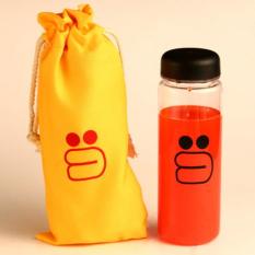 Spesifikasi Universal Botol Minum Plastik Bening Line Character Sally Dan Brown 500Ml Yellow Terbaru
