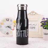 Harga Universal Botol Minum Plastik My Bottle 500Ml Sm 8456 Black Lengkap