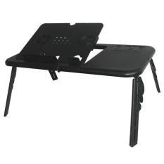 Universal E-Table Meja Laptop Portable - Hitam