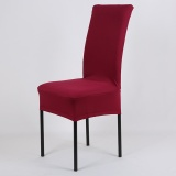 Ulasan Mengenai Universal Elastic Chair Cover Computer Chair Cover Siamesed Dining Chair Cover Protective Decorative Chairs Cover Wine Red Intl