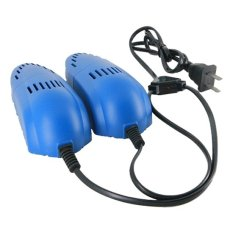 Universal Electric Multifunction Shoes Dryer 12W 220V - Biru