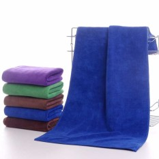 Review Pada Universal Handuk Microfiber Quickdry Towel 35 X 75 Cm Blue