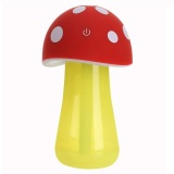 Diskon Universal Mushroom Night Light Air Humidifier Aroma Therapy Merah Branded