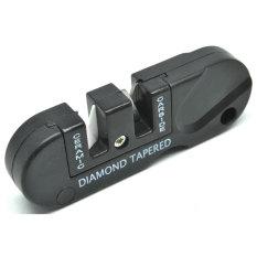 Beli Universal Pengasah Pisau Multifunction Outdoor Portable Knife Sharpener Black Seken