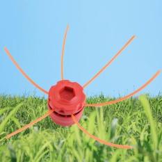 Diskon Produk Universal Plastik Strimmer Kepala Kepala Pemangkas String Set Untuk Bensin Rumput Brush Merah Intl