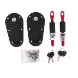 Jual Beli Universal Racing Mount Bonnet Plus Flush Hood Latch Pins Locking Kit Baru Tiongkok