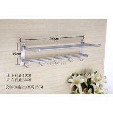 Universal - Rak Handuk Dinding Aluminium