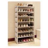 Harga Universal Rak Sepatu 8 Susun Abu Silver Paling Murah