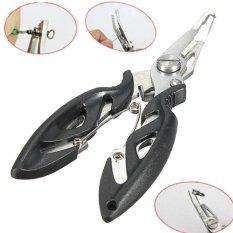 Harga Universal Tang Kail Pancing Stainless Steel Fishing Hook Remover Black Origin