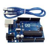 Review Terbaik Uno R3 Mega328P Atmega16U2 Development Board Kabel Usb Yang Kompatibel Untuk Arduino Internasional