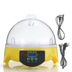 US Plug Otomatis Clear Digital 7 Inkubator Telur Hatchery untuk Ayam Bebek Burung Puyuh Digital Suhu Kecil Brooder-Intl