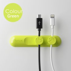 USB Charger Line Data Cord Organizer 3 Magnetic Button Multipurpose Desktop Cable Clip Storage Fits for Phone Cable - intl