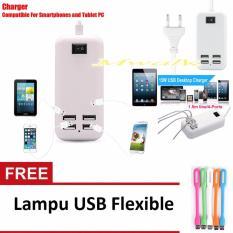 Harga Usb Colokan Listrik Charger 4 Port Free Lampu Usb Flexible Mwalk Online