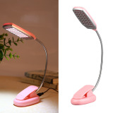 Harga Hemat Usb Lampu Meja 28 Led Desk Light Pink