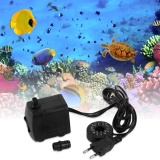 Promo Ustore 15 W Ac 220 240 V 12 Led Submersible Pompa Air Untuk Aquarium Fountain Fish Tank Black Intl