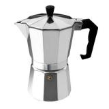 Harga Ustore Aluminium 8 Sudut Moka Espresso Cup Continental Moka Pot Perkolator 3Cup Keperakan Baru