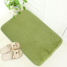 Ustore Lembut Anti Selip Karpet Flokati Kesat Keset Karpet Lantai Kamar Makan untuk Hidup Rumput Hijau