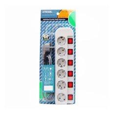 Perbandingan Harga Uticon Stop Kontak Kabel 6Lubang St1682Sw Stpk 6Lb 6Sw Di Dki Jakarta