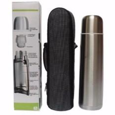 Harga Termurah Vacuum Flask Thermos Air Stainless Steel Q2 6100 1 Liter