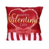 Hari Valentine Cetak Bantal Kasus Polyester Sofa Mobil Bantal Penutup Dekorasi Rumah Internasional Terbaru