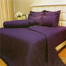 Toko Vallery Quincy Bedcover King Warna Purple 180X200X30 Cm Vallery Online