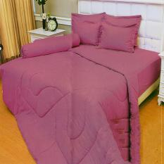 Review Terbaik Vallery Quincy Sprei Single 120X200X30 Cm Warna Violet