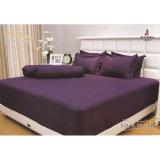 Beli Barang Vallery Sprei Ukuran 180Cm X 200Cm X 30Cm Dark Purple Online