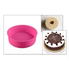 VANDER Silikon UMUR Round Cake Mould Cupcake Pastry Shaper Kue Roti Mould Home Kitchen Bakery Baking Pan DIY Alat Kue Bakeware-Intl