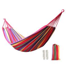 Vanker 200*100 Cm Halaman Belakang Camping Beach Travel Portable Gantung Tidur Gantung Hammock (Merah)