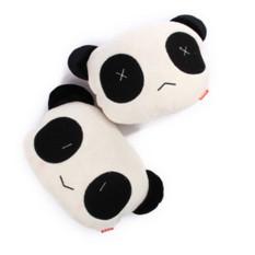 Jual Vanker 2 Pcs Kartun Panda Plush Auto Bantal Pinggang Car Seat Leher Rest Headrest Bantal Putih Branded
