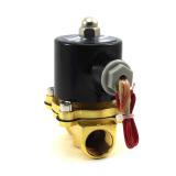 Harga Vanker Ac 220 V 1 2 Katup Solenoid Listrik Air Gas Minyak Air 2W 160 15 Intl Online Tiongkok