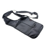 Jual Vanker Black Outdoor Sports Inspector Fbi Messenger Hidden Underarm Pocket Shoulder Bag Oem Grosir