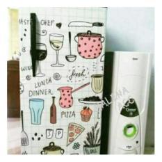 Variasi Sticker Kulkas 1 Pintu Sisi Depan Motif Kitchen Master Chef-ACC