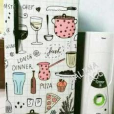 Variasi Sticker Kulkas 1 Pintu Sisi Depan Motif Kitchen Master Chef-PRP