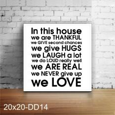 Vasty kode DD14 / hiasan dinding / poster kayu / wall decor / dekorasi rumah /