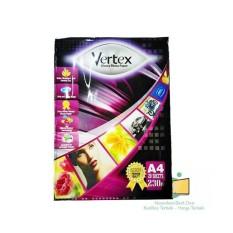 Vertex Photo Paper / Kertas Foto A4 Glossy 230G Premium Original