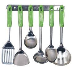 Harga Hemat Vicenza Kitchen Tools S S Vk915C 7 Buah Hijau