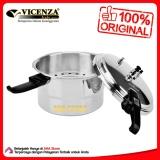 Harga Vicenza Pressure Cooker Vp308 8L Panci Presto Satu Set