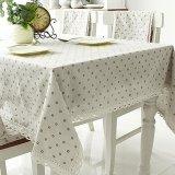 Beli Vintage Cotton Linen Taplak Meja Tablecover Untuk Piknik Dekorasi Rumah Dengan Lace Daisy S Intl Pakai Kartu Kredit