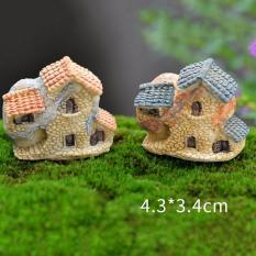 Vintage Rumah Miniatur Fairy Garden Home Houses Decoration Mini Craft Micro Landscaping Decor DIY Aksesoris Type3-Intl