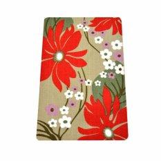 Vintage Story Carpet Floral Cream Motif Bunga