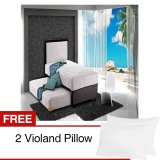 Beli Violand Latex Dodo Spring Pure Natural Latex 2 In 1 Bed Free 2 Violand Pillow Lengkap