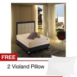 Cuci Gudang Violand Olivia Set Kasur Free 2 Violand Pillow