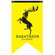 Vishine Mall-Game Of Thrones Hanging Banner Bendera Stark Tarly Lannister Bolton Dekorasi Rumah-Internasional