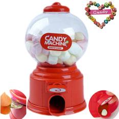 Vococal Mini Lucu Permen Gula Jelly Beans Yang Tolol Dispenser Mesin Penjual Makanan Ringan